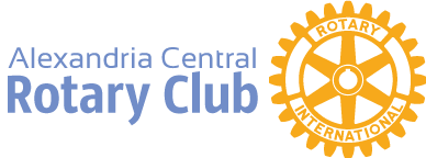Alexandria Central Rotary Club Logo